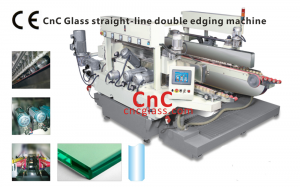 CNC Glass straight-line double edging machine